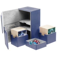 Ultimate Guard Twin Flip´n´Tray Deck Case 200+ Standard Size XenoSkin Blue