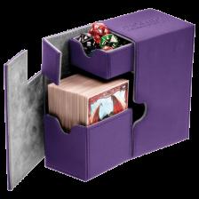 Ultimate Guard Flip´n´Tray Deck Case 80+ Standard Size XenoSkin™ Purple