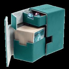 Ultimate Guard Flip´n´Tray Deck Case 100+ Standard Size XenoSkin Petrol Blue