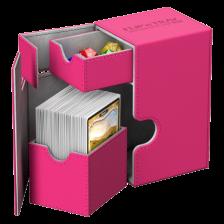 Ultimate Guard Flip´n´Tray Deck Case 80+ Standard Size XenoSkin™ Pink