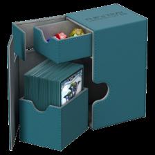 Ultimate Guard Flip´n´Tray Deck Case 80+ Standard Size XenoSkin™ Petrol Blue