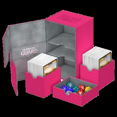 Ultimate Guard Twin Flip´n´Tray Deck Case 160+ Standard Size XenoSkin Pink