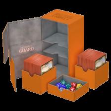 Ultimate Guard Twin Flip´n´Tray Deck Case 200+ Standard Size XenoSkin Orange