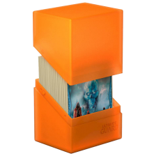 Ultimate Guard Boulder Deck Case 80+ Standard Size Poppy Topaz