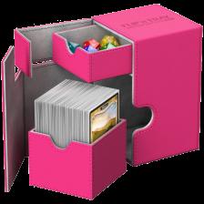 Ultimate Guard Flip´n´Tray Deck Case 100+ Standard Size XenoSkin™ Pink