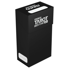 Ultimate Guard French Tarot Deck Case 80+ Black