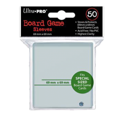 Ultra Pro Sleeves - BG Silver 69x69 mm Green