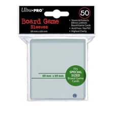 Ultra Pro Sleeves - BG Silver 69x69 mm Green