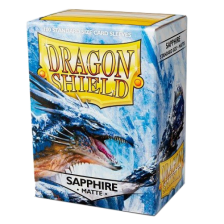 Dragon Shield Standard Sleeves - MATTE Sleeves (100) - SAPPHIRE