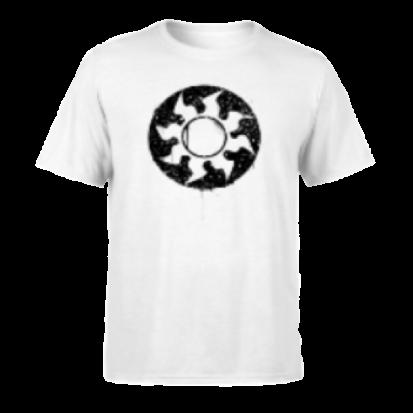 Magic The Gathering White Mana Splatter Men's T-Shirt - White - M