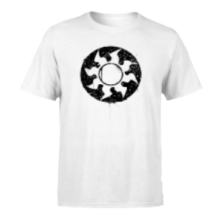 Magic The Gathering White Mana Splatter Men's T-Shirt - White - M