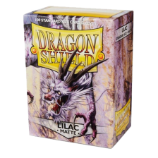 Dragon Shield Standard Sleeves - MATTE Sleeves - LILAC (100)