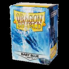 Dragon Shield Standard Sleeves - MATTE Sleeves - BABY BLUE (100)