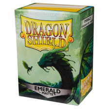 Dragon Shield Standard Sleeves - MATTE (100) - EMERALD