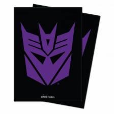 Standard Deck Protector - Hasbro Transformers Decepticons (100 Sleeves)