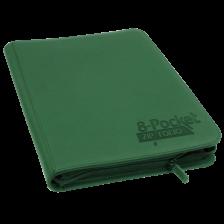 Ultimate Guard 8-Pocket ZipFolio XenoSkin Green