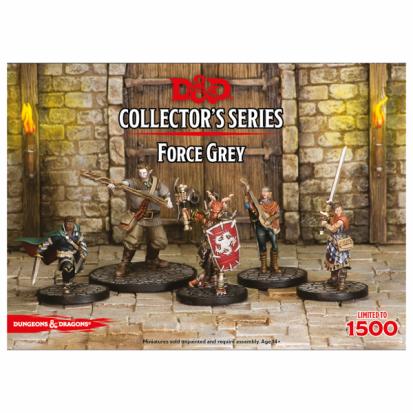 D&D Collector's Series Miniatures - Force Grey