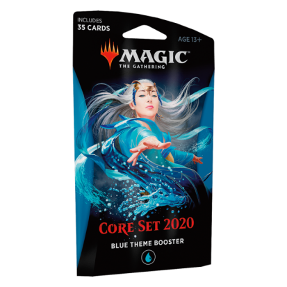 Booster (theme) - Core Set 2020 Blue