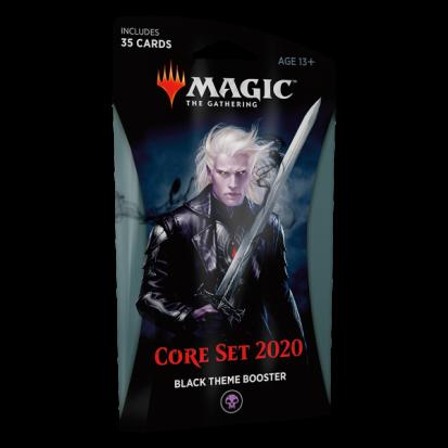 Booster (theme) - Core Set 2020 Black