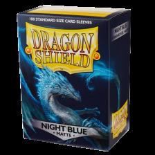 Dragon Shield Standard Sleeves - MATTE Sleeves (100) - NIGHT BLUE