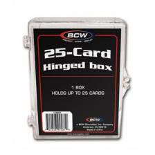 BCW - HINGED BOX - 25 COUNT