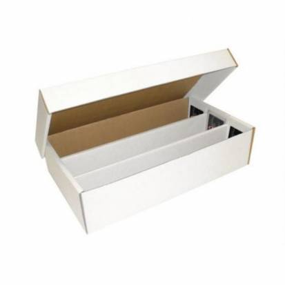 BCW - SUPER SHOE STORAGE BOX (3,000 CT.)