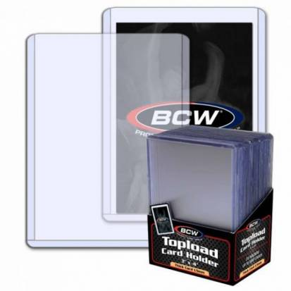 BCW - BCW - TOPLOAD HOLDER - 3 X 4 X 1.5 MM - 59 PT. (25)