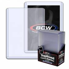 BCW - TOPLOAD HOLDER - 3 X 4 X 3.5 MM - 138 PT. (10)