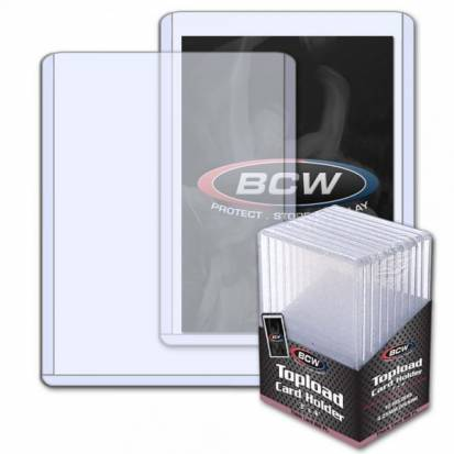 BCW - TOPLOAD HOLDER - 3 X 4 X 4.25 MM - 168 PT.