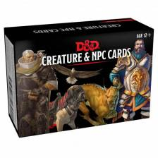 D&D Monster Cards - NPCs & Creatures (182 cards)
