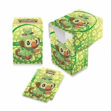 Full-View Deck Box - Pokemon Sword and Shield Galar Starters Grookey