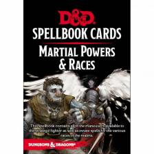 D&D Martial Powers & Races Spellbook Cards