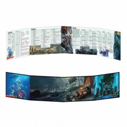 D&D DM Screen - Of Ships and Of Sea