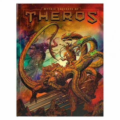 D&D Mythic Odysseys of Theros Limited Edition Alternate Cover
