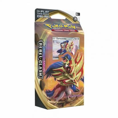 Pokemon TCG: Sword & Shield - Rebel Clash Theme Deck (Zamazenta)
