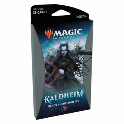 Booster (Theme) - #3 Black - Kaldheim