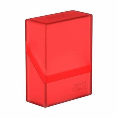 Ultimate Guard Boulder™ Deck Case 40+ Standard Size Ruby