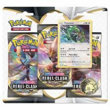 Pokemon - Rebel Clash 3 booster blister (Rayquaza)
