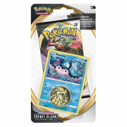Pokemon - Rebel Clash Checklane Blister Pack - Mantine