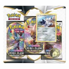 Pokemon - Rebel Clash 3 booster blister (Duraludon)