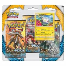 Pokemon - Sun and Moon - 3 Pack Blister (Togedemaru)